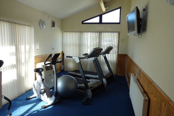 Fitness Suite. Glan Gors Holiday Park, Anglesey