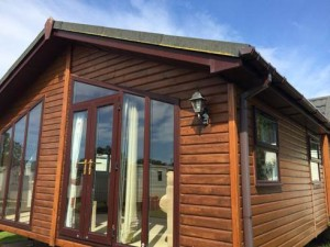 Luxury Wooden Lodge For Sale, Anglesey