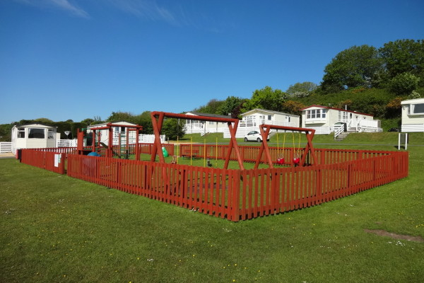 Children's Play Area, Glan Gors Holiday Park, Anglesey