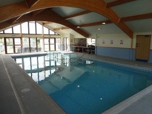 Swimming pool, holiday park Anglesey